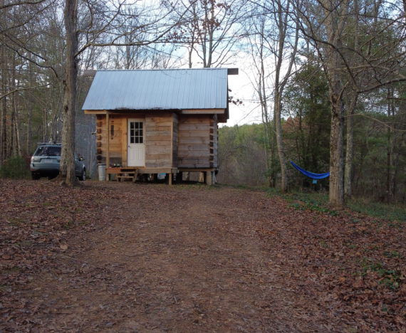 cabin virginia woods