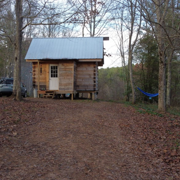 cabin virginia woods